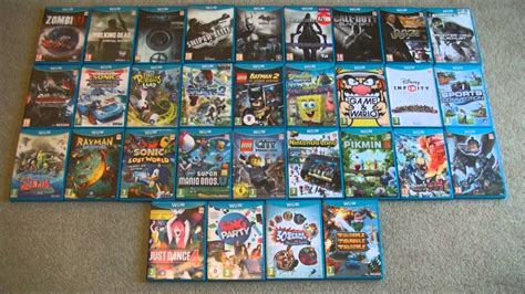 We soruce the highest quality games in the smallest file size. Nintendo Wii U 31 Game Collection - YouTube