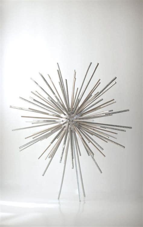 tree topper star silver wood starburst black friday sale 15 off decoration ornament wedding