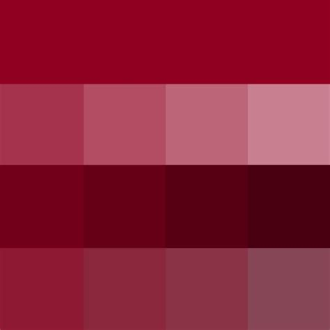 burgundy hue tints shades tones hue