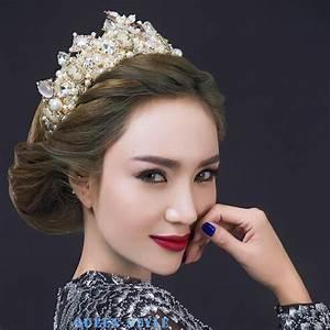 Luxury Wedding Crown Tiaras Hair Accessories Marilyn