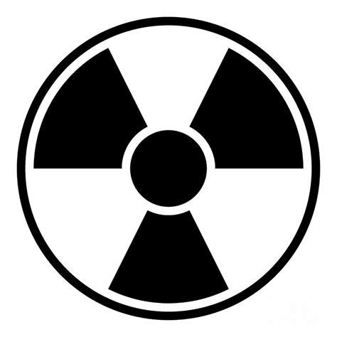 radiation warning sign digital by henrik lehnerer