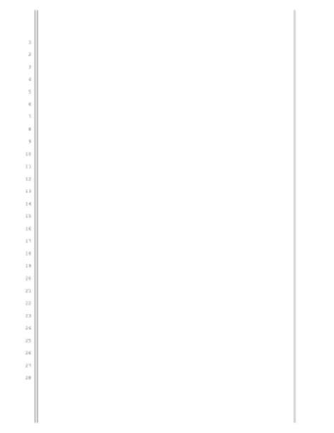 pleading paper printable washington pleading paper pleading template