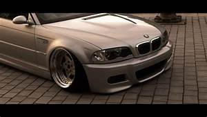 BMW E46 M3 stanced | handsome. - YouTube