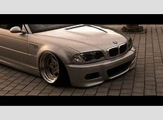 BMW E46 M3 stanced handsome YouTube