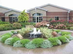 Garden, Fountain, Design, Ideas