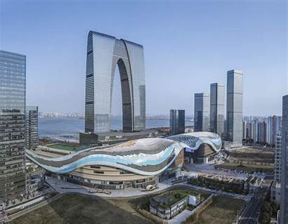 Suzhou China Roof Projects Industrial Park Benoy