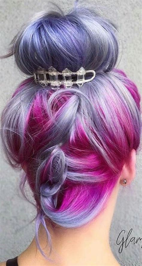1084 Best Rainbow Of Hair Images On Pinterest
