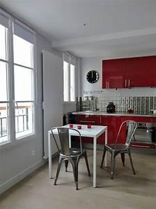 La Petite Cuisine : comment agrandir une petite cuisine conseils d co et ~ Melissatoandfro.com Idées de Décoration