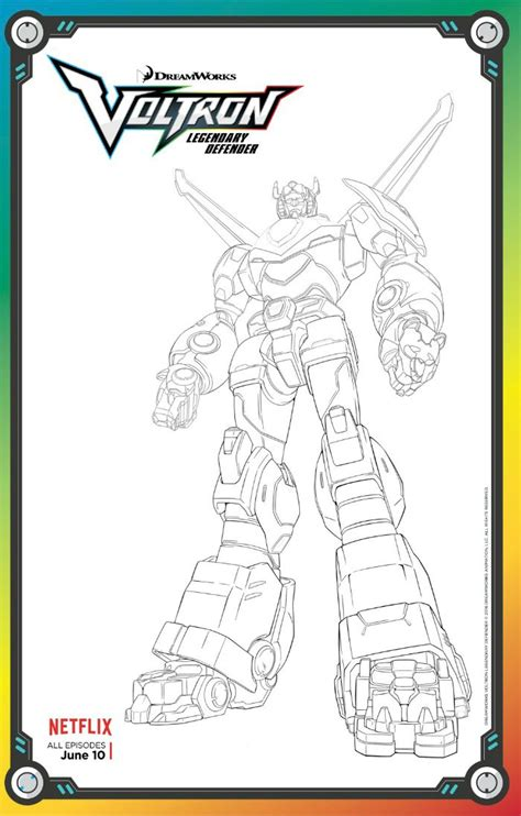 voltron coloring pages  coloring page