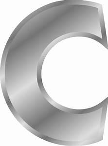 onlinelabels clip art effect letters alphabet silver With silver alphabet letters
