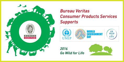 bureau veritas consumer products services supports world environment day 2016