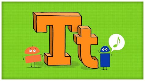 letter t songs for preschool abc song the letter t quot time for t quot by storybots k 320