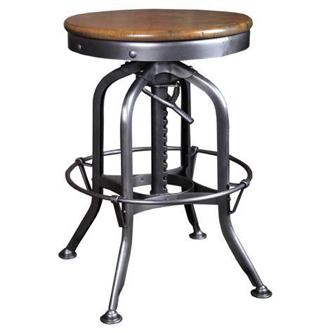 original vintage industrial american made toledo stool