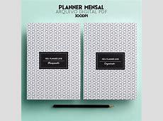 Planner Mensal 2018 Miolo Digital A5 Para Imprimir