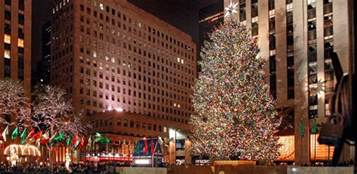 the christmas tree at rockefeller center 2017 loving new york