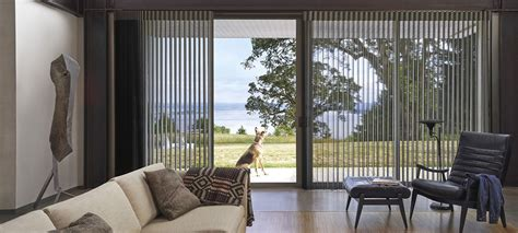 custom drapes sliding bifold door blinds luxaflex
