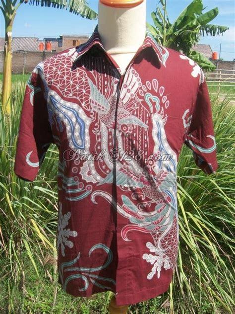 kemeja batik tulis murah bahan katun halus ld040 toko batik online 2019