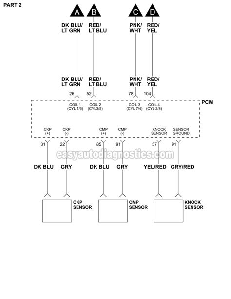 ignition system wiring diagram 1997 1999 4 6l ford f150