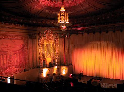 castro theatre interior  auditorium interior