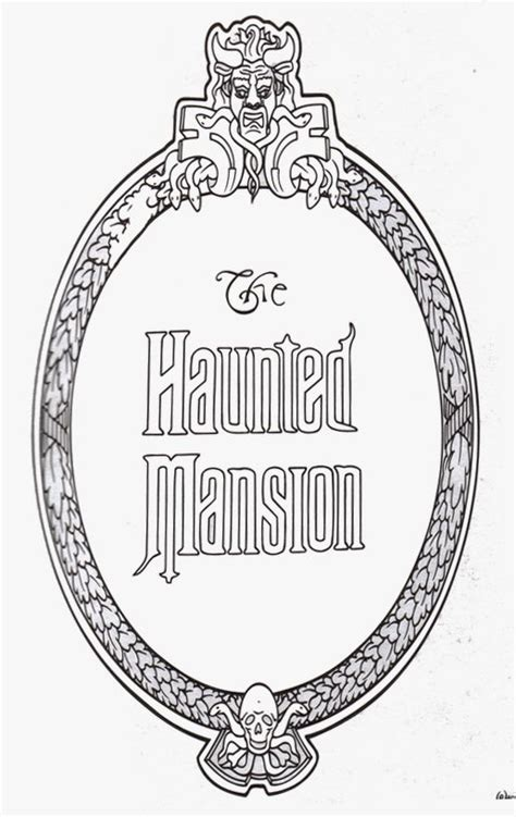 I was looking for a picture like this as i wanted to have it printed to wallpaper my house, after months of looking and not being able to find it i decided to create it myself. A Haunted Mansion plaque print out pdf. Save to print ...