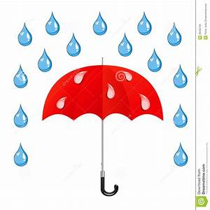 Vector umbrella and rain drops | Clipart Panda - Free ...