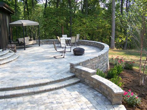 pictures of raised patios chandler concrete grotto hardscapes gallery versa lok