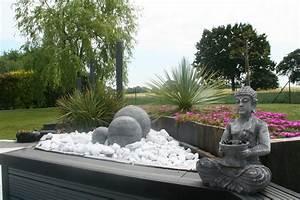 evolution d39un univers terrasse avec vue de nuit youtube With deco de jardin exterieur 4 decoration autour cheminee