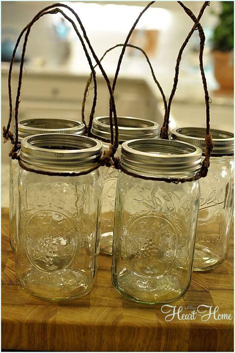 hometalk diy mason jar light