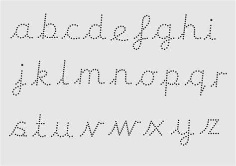 Cursive Handwriting Letters Dailypollco
