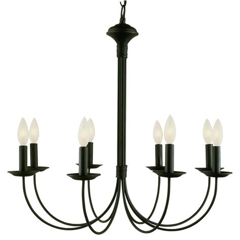 bel air lighting stewart 8 light black incandescent