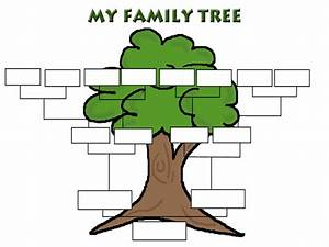 Family tree template family tree templates for Genealogy templates for family trees