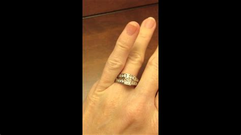 jared certified   ctw princess cut  diamond