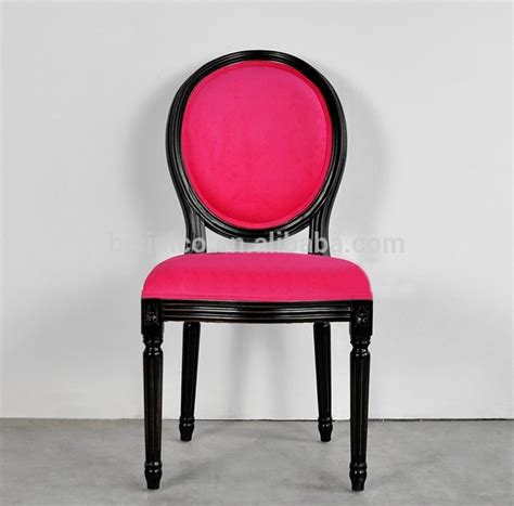 style new classic pink velvet side chair retro