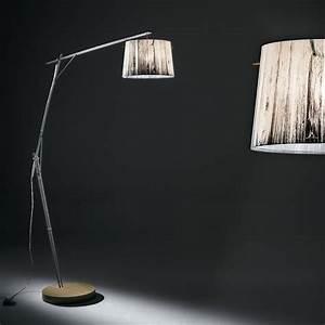 Lampadaire Interieur Design : lampadaire halogene woody slamp zendart design ~ Teatrodelosmanantiales.com Idées de Décoration