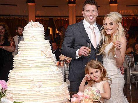 jamie spears lynn wedding zoey maddie 101 married watson aldridge britney briann cast husband cake child daughter she cakes they