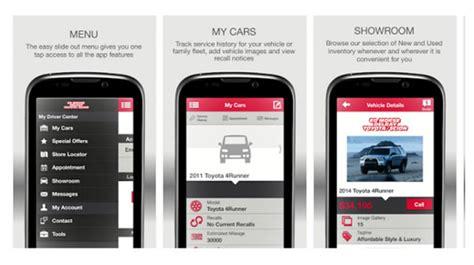 delray toyota mobile app service  cars  sale