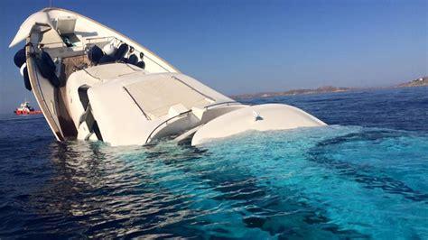 Mediterranean Home Interiors Shocking Photos And Of Superyacht Sinking Of Mykonos Boat International