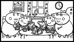 Delicious Cake For The Pig Family