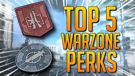 warzone perks