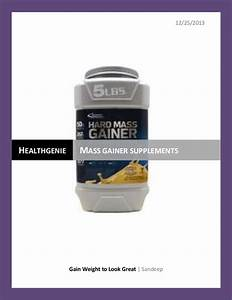 Mass Gaining Supplement For Gaining Muscle