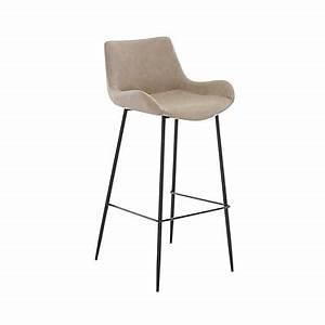 Tabouret Poil Blanc : tabouret de bar fauteuil id e pour la maison et cuisine ~ Teatrodelosmanantiales.com Idées de Décoration
