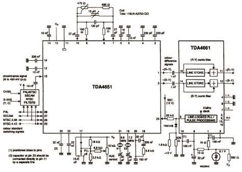 Circuit Diagram Of Colour Tv Power Supply