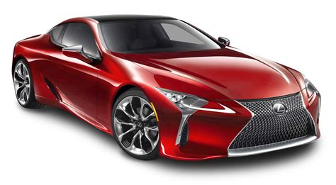 lexus cars red cherry red lexus lc 500h car png image pngpix