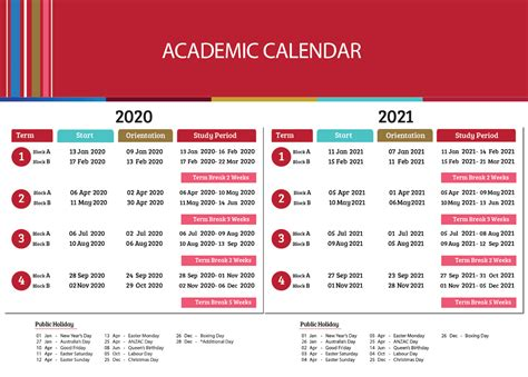 academic calendar victory institute