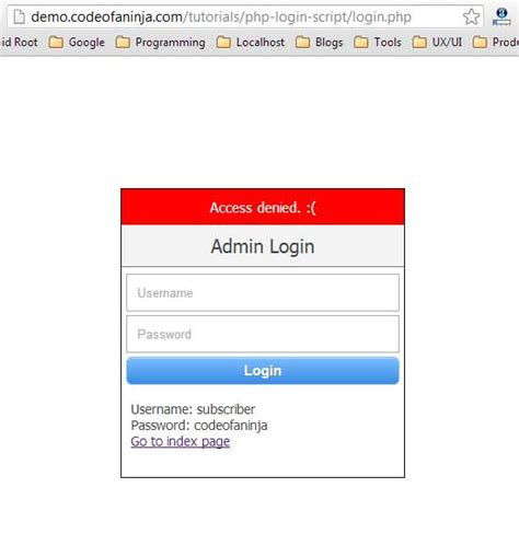 login form in php with session and validation php login script tutorial