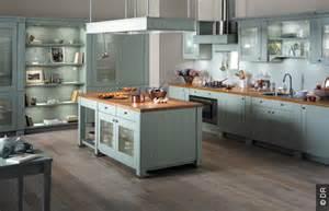 kitchen island overhang retro design ou pop les cuisines font leur show