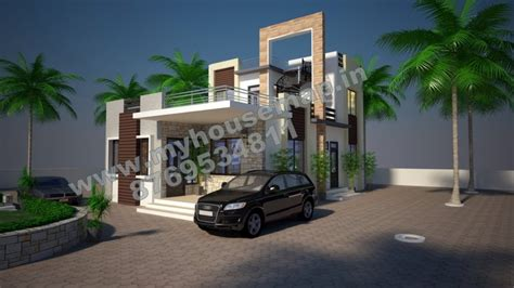 home house map elevation exterior house design