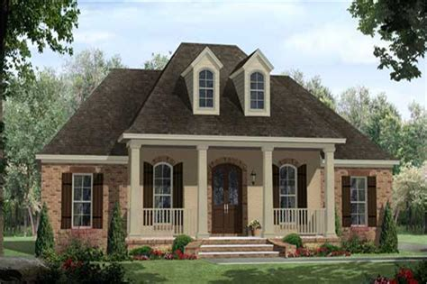 southern house plans with wrap around porches country acadian style house plans home design 141