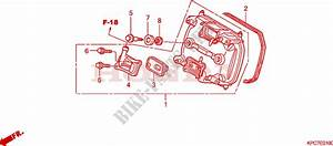 Front Cylinder Head Cover Engine Xl125vb 2011 Varadero 125