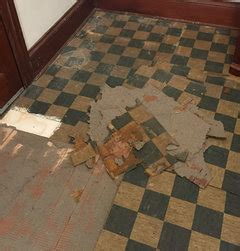 remove  linoleum glue   wood floors